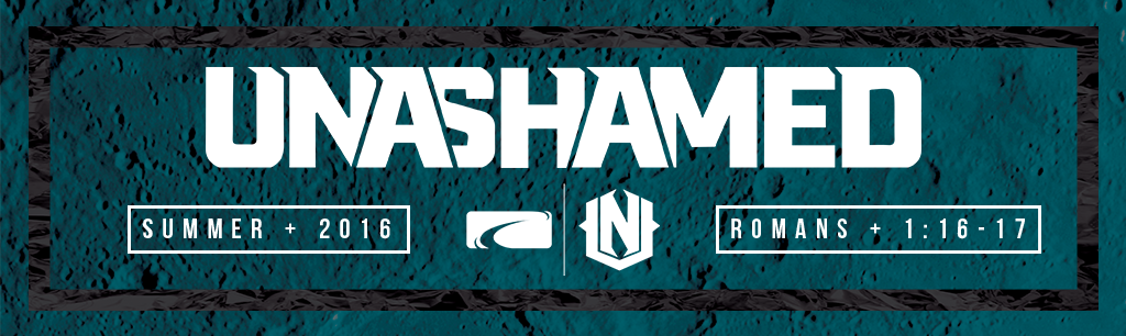 UNASHAMED Website Banner