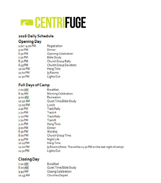 Centrifuge_Schedule